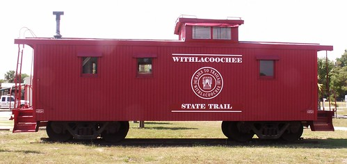 Withlacoochie State Trail Caboose 1