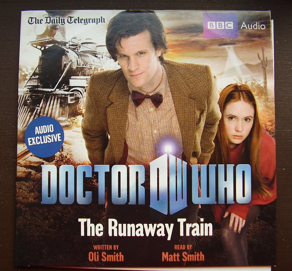 Dr Who - The Runaway Train audio CD