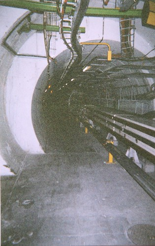 Inside the CERN tunnel