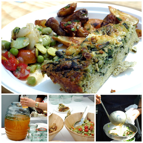 quiche salsa potatoes