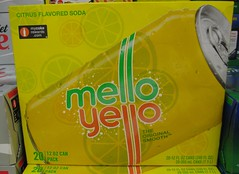 Mello Yello 20 pack with NEW LOGO (Paxton Holley) Tags: logo coke supermarket drinks soda cocacola beverages branding softdrinks melloyello