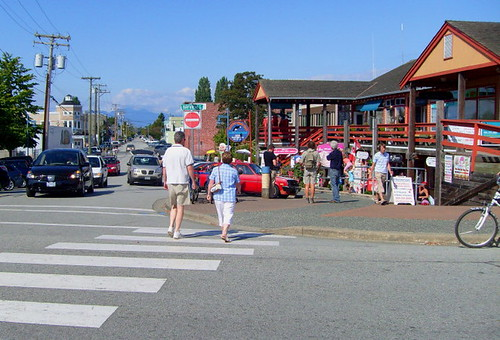 Steveston, BC tourist area