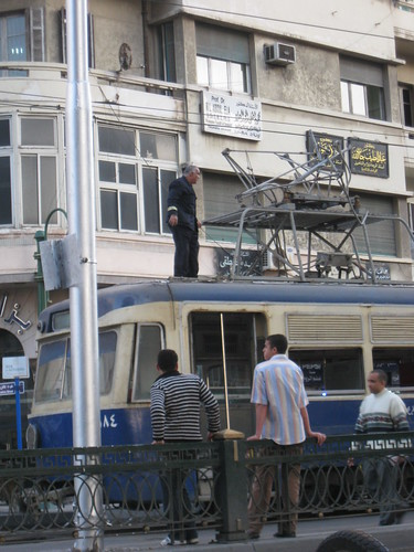 Oops, broken tram!