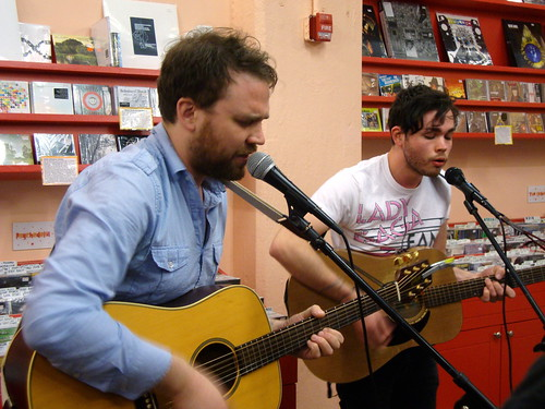 Frightened Rabbit @ Sound Fix Records 4/28/10