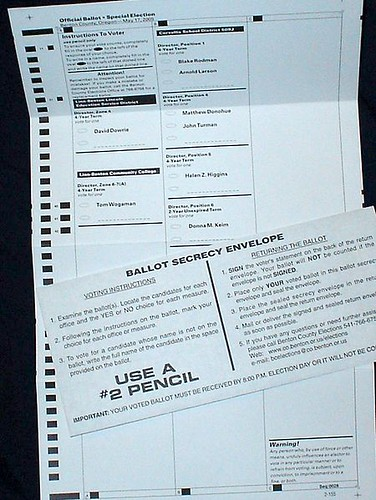 Oregon ballot