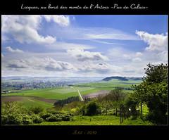 Dans la vallée (1) ... (│JL│) Tags: ciel nuage campagne mont artois licques