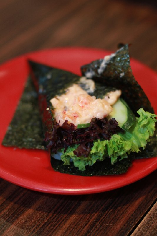Ika Lobster Salad roll