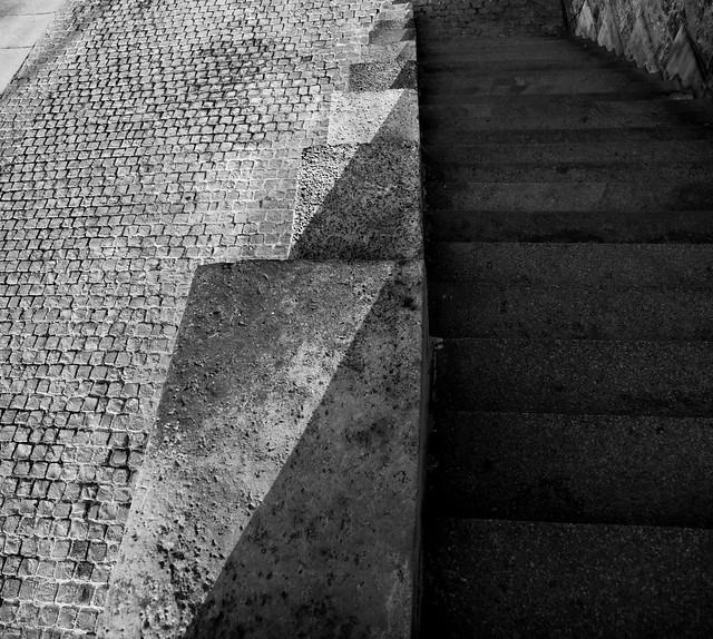 Sur le quai de la Seine - Geometries du quotidien