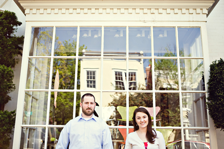 Kelly and Brandon~Engagement: Georgetown/Manassas, VA