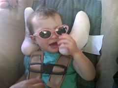 Liesl's First Sunglasses