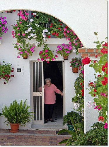¡Señora, que bonita tiene usted su casa!