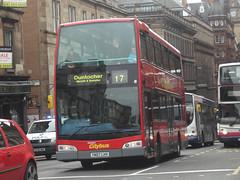 Glasgow Citybus - YN07 LHV (MSE062) Tags: bus london ex glasgow olympus double east scania decker citybus lancs lhv transdev n230ud yn07