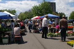 First Day of Market- Season 5 (growinghope) Tags: spring farmersmarket market may ypsilanti openingday 2010 downtownypsifarmersmarket ferrisstreet dyfm