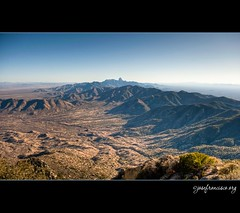 Baboquivari Peak from Quinlan Mountains (josefrancisco.salgado) Tags: arizona usa mountain southwest us nikon unitedstatesofamerica observatory pico nikkor montaña hdr d3 hdri observatorio bracketing ldr kpno kittpeaknationalobservatory photomatixpro tonemapping motaña tonemap 5xp highdynamicrangeimaging ldri tohonooodhamnation baboquivaripeak hdraddicted 2470mmf28g quinlanmountains