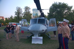 Marine Week Boston, 2010: Bell UH-1N Huey heli...