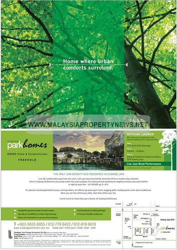 Freehold villas and condos for sale in Subang Jaya