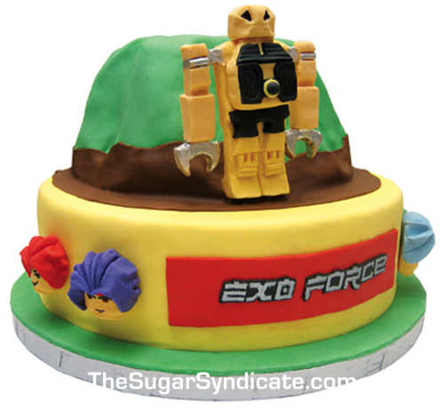 LEGO Exoforce Birthday Cake