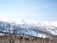 長峰から羊蹄山を望む
