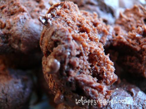 THV cakes - choc mini muffins
