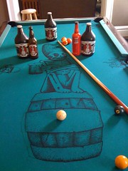 DG Pool Table 3 (Rogue Ales) Tags: ohio beer pool ale rogue pooltable rogueales deadguy toddstephens roguenation roguedeadguy