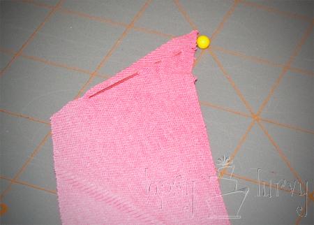 adult t shirt ruffles strip