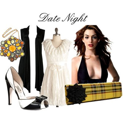 05 May - Black Sleeveless Cardi - Date night