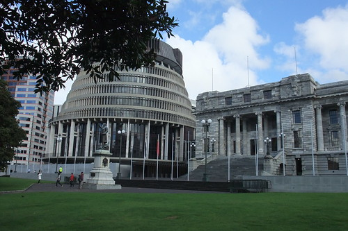 Beehive & Parliament