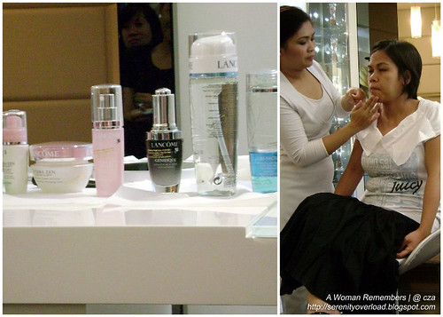 lancome workshop, makeup skincare workshop
