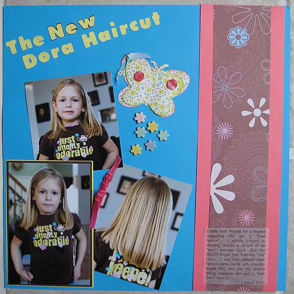 The New Dora Haircut