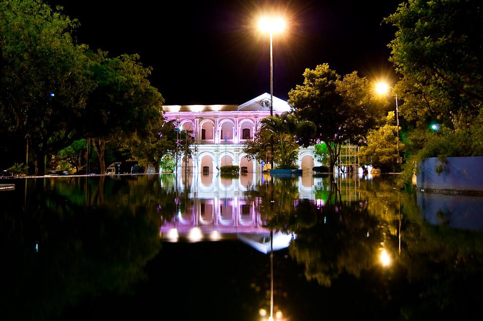 Ex Cabildo del Congreso de Paraguay, actualmente convertido en Museo. (Asunción, Paraguay - Elton Núñez)