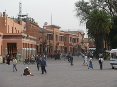 djemaa el fna square3 (tlr.circa.66) Tags: square morocco maroc atlas marrakech gate1 djemaaelfna  moroccototal