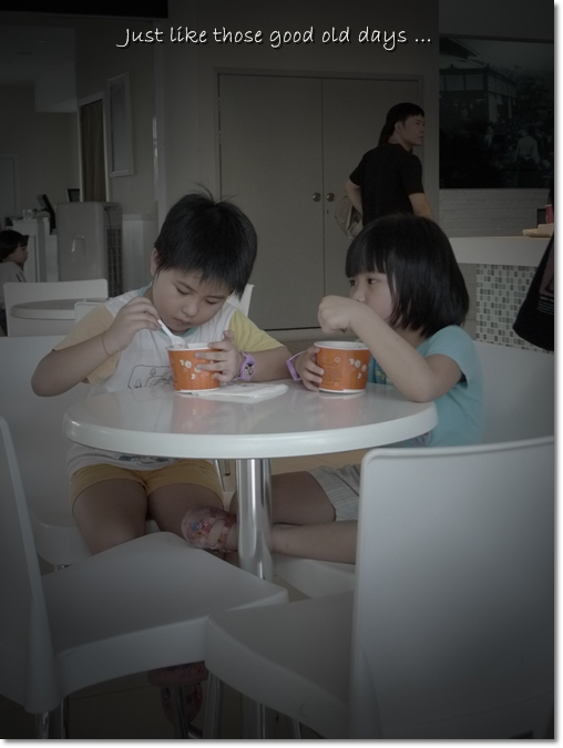 Children Enjoy Yoghurt