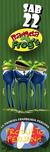 Banda Frog's - Producto Peruano Miraflores