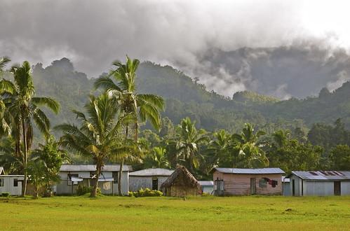 Nakavika village