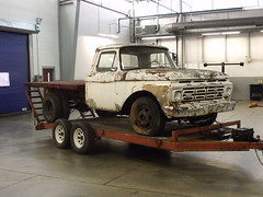 My '64 Ford. (stevenbr549) Tags: old ford truck 1 trailer ton 1964 flatbed f350 dually