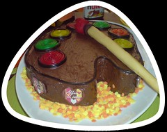 Farbpaletten- Torte (Tortenwahn) Tags: marzipan kuchen torte fondant gebck ss buttercreme motivtorte tortenwahn mottotorte mottotorten