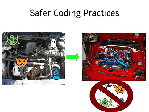 w2sp: Slide 9: Safer Coding Practices