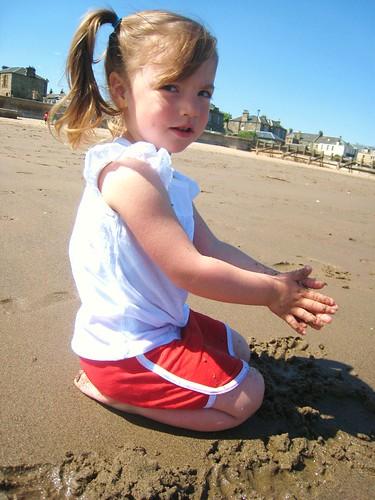 m on beach