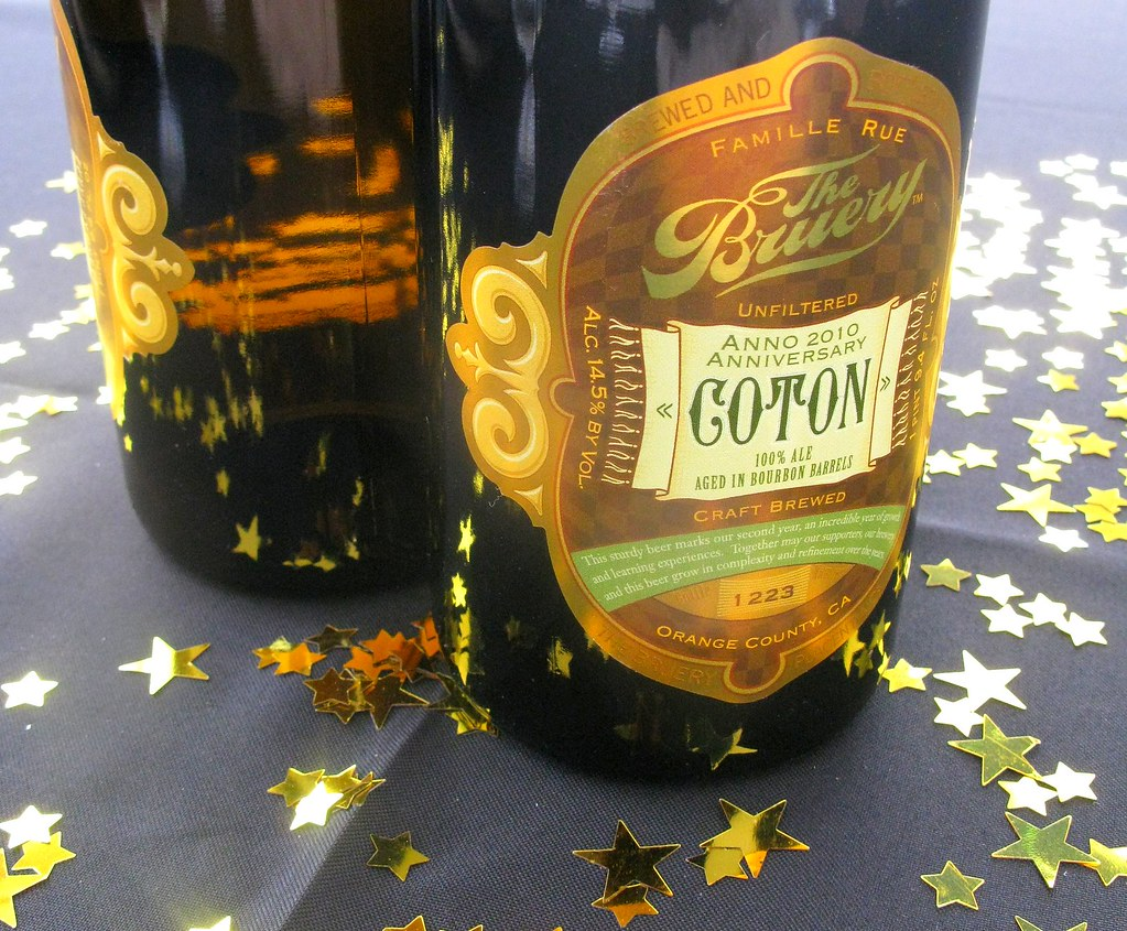 The Bruery's 2nd Anniversary Coton by Caroline on Crack