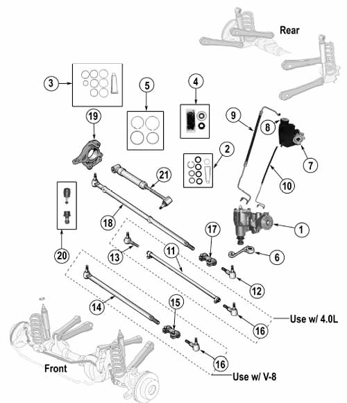 Jeep Cj5 Steering Diagram