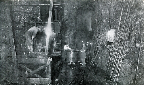 Interior of a Joplin Mine