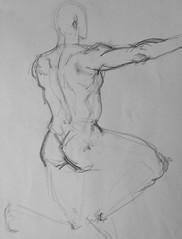 HC4 (claralieu2) Tags: art sketch student drawing anatomy figure risd