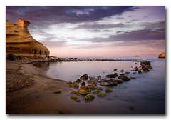 Cala de los Cocedores (Almera) (jose.singla) Tags: sea costa landscape alba paisaje amanecer carolina almera cala mediterrneo guilas cocedores