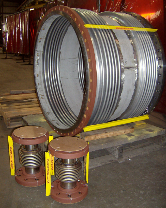 Expansion Joints for an Epoxy Resin Plant in Saudi Arabia