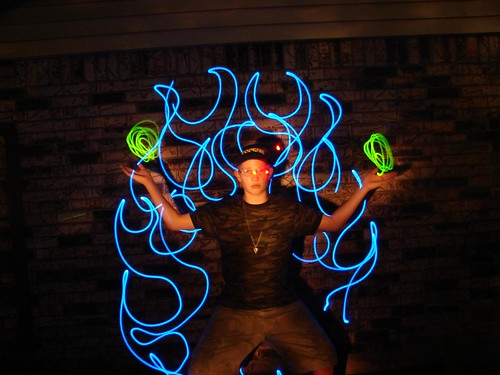 LED Light Painting