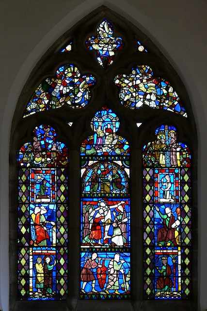 medieval stained glass twycross french