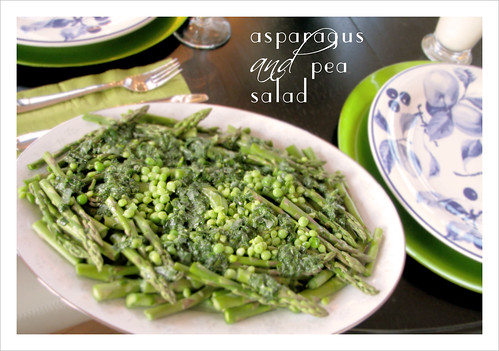 asparagus and pea salad