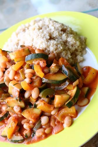 Vegetables, Beans & Couscous
