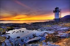 Sunset at Rhue Lighthouse (ketscha) Tags: sunset lighthouse scotland ullapool rhue greatphotographers mygearandmepremium mygearandmebronze mygearandmesilver mygearandmegold mygearandmeplatinum mygearandmediamond