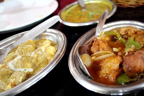 インドで中華料理